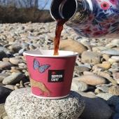 Enjoying sunshine with a cup of nice coffee☀️ @goppion_caffe @goppion_caffe_vienna @asobubottle