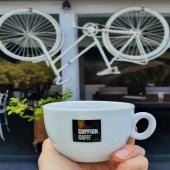 Up side down #espressotime #goppioncaffè @lamusica_pn