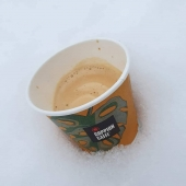 Aj vy ste už mali tento rok Snowpresso???😁😁😁 ❄❄❄❄❄❄❄❄❄❄❄❄❄❄❄ @goppion_caffe @goppion_caffe_vienna #coffeeonsnownoproblem