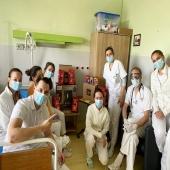 Goppion Caffé Slovakia v @nemocnica_trencin Uvedomujeme si náročnosť práce lekárov a sestričiek a preto sme sa rozhodli ich potešiť našou kávou. Veríme, že okrem zlepšenia nálady im dodá aj veľkú porciu energie. #trencianskanemocnica #fightthevirus #goppioncaffe #trencin #somdoma